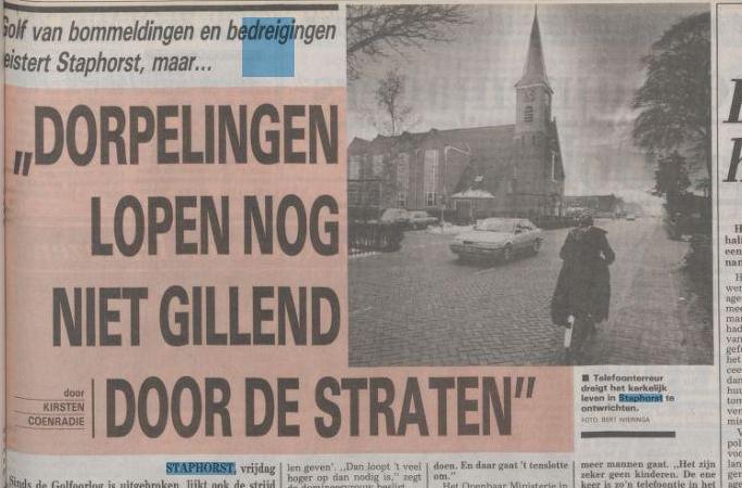 streng gelovig dorp nederland